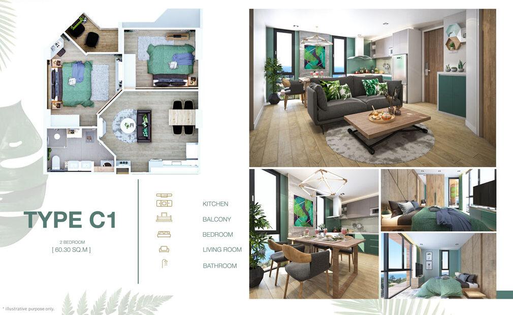 2 Bedroom C1