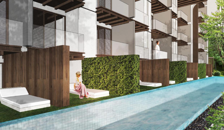 建筑-泳池户型