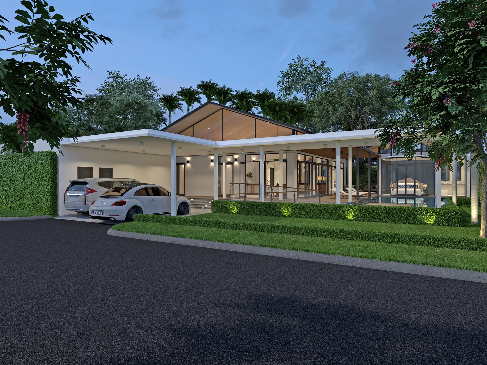 New loft styled villa project in Rawai