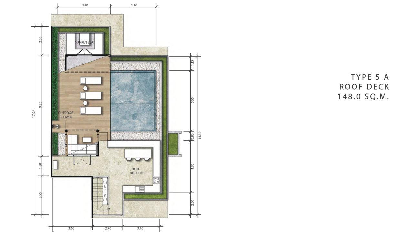 2 Bedroom Penthouse Duplex (2)