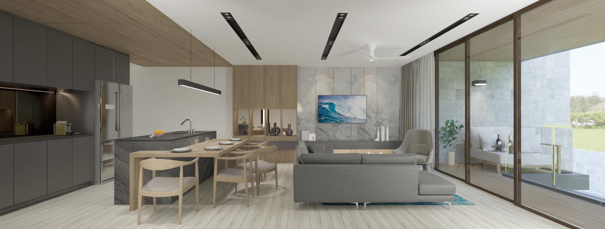 Large 1-bedroom next to Bangtao beach