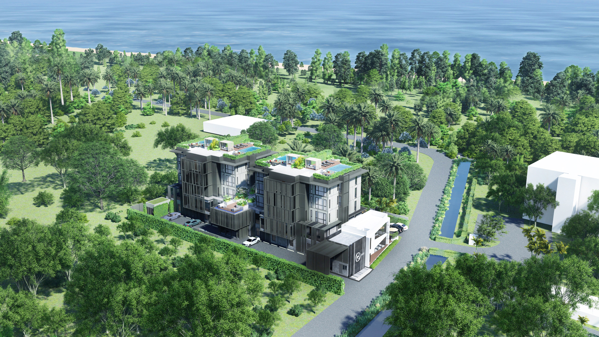 Low-density project next to Bangtao Beach