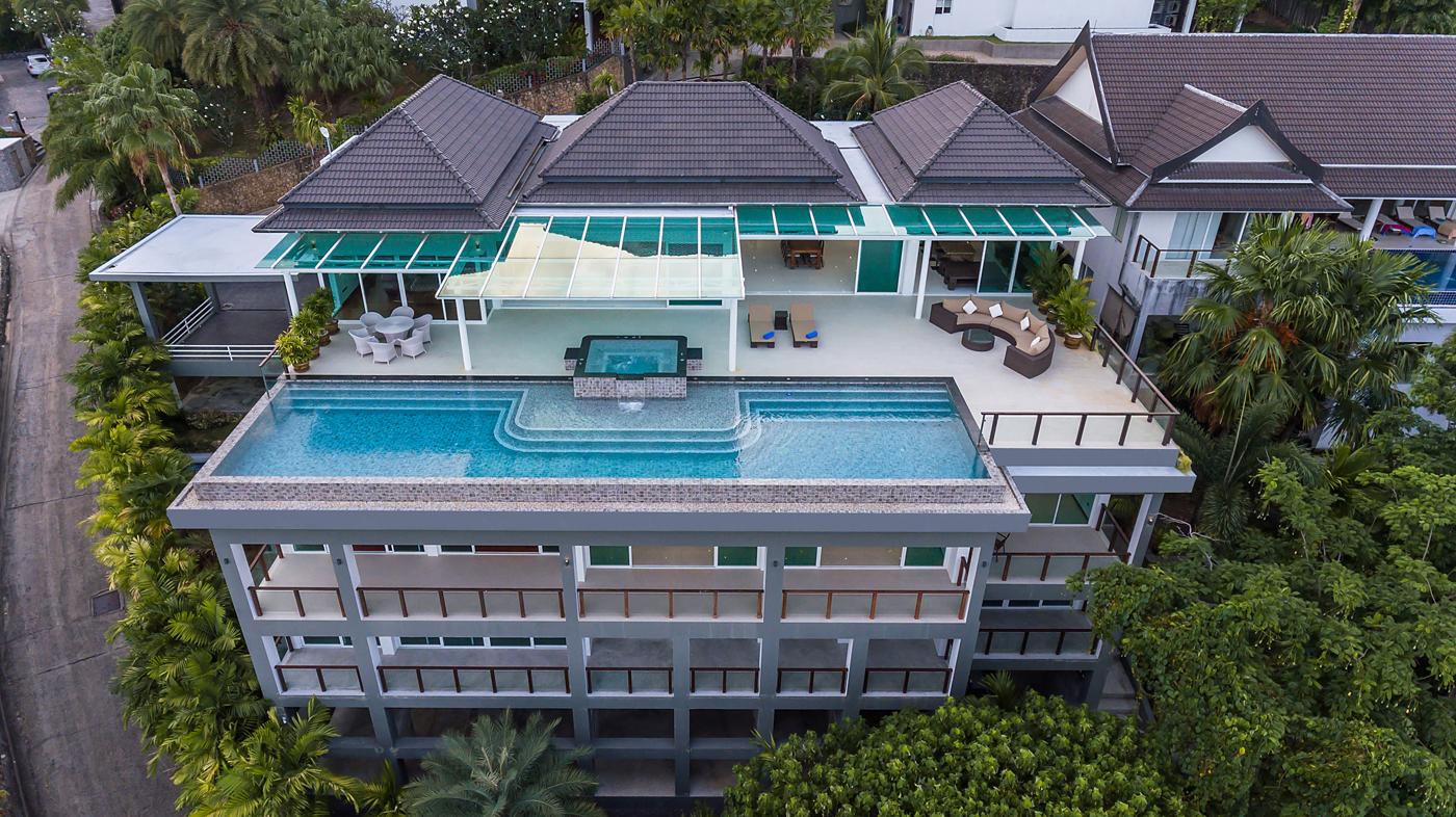 Breathtaking Sea-View Villa in Rawai