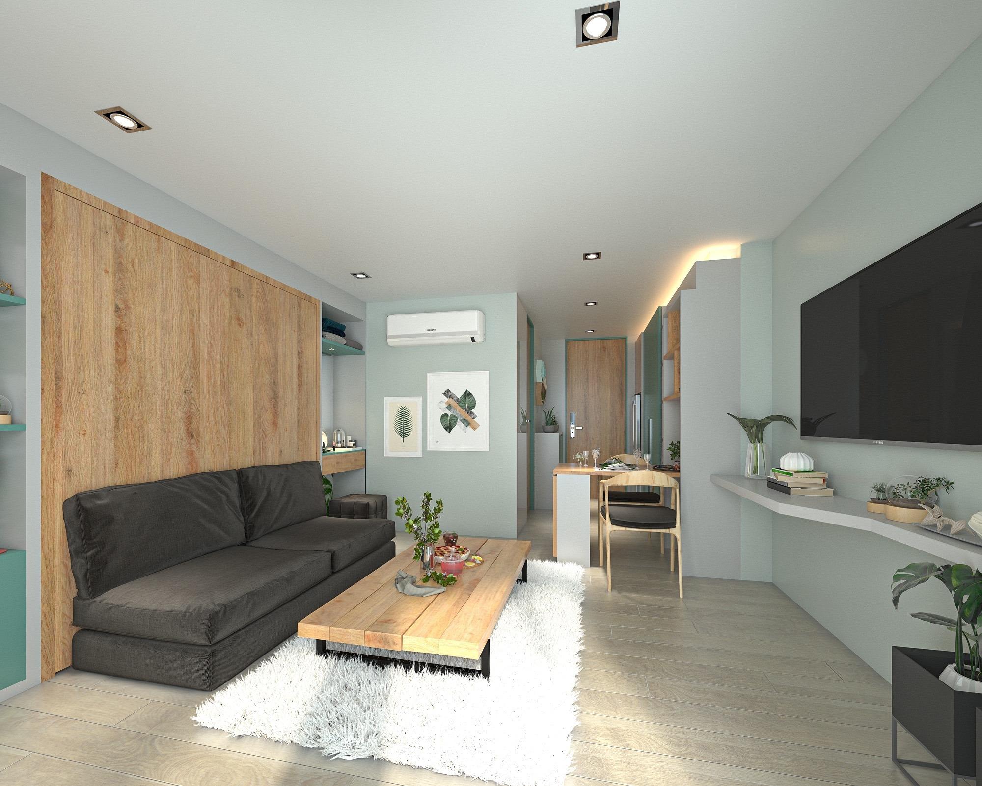 Studio with unique concept