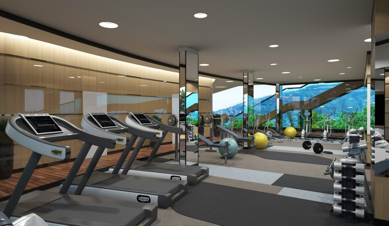 7_Rooftop fitness center