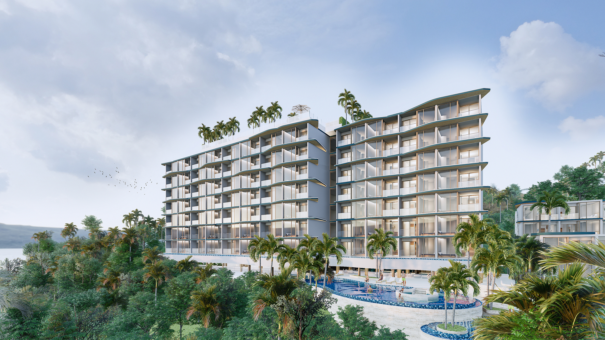 New condo project in Layan