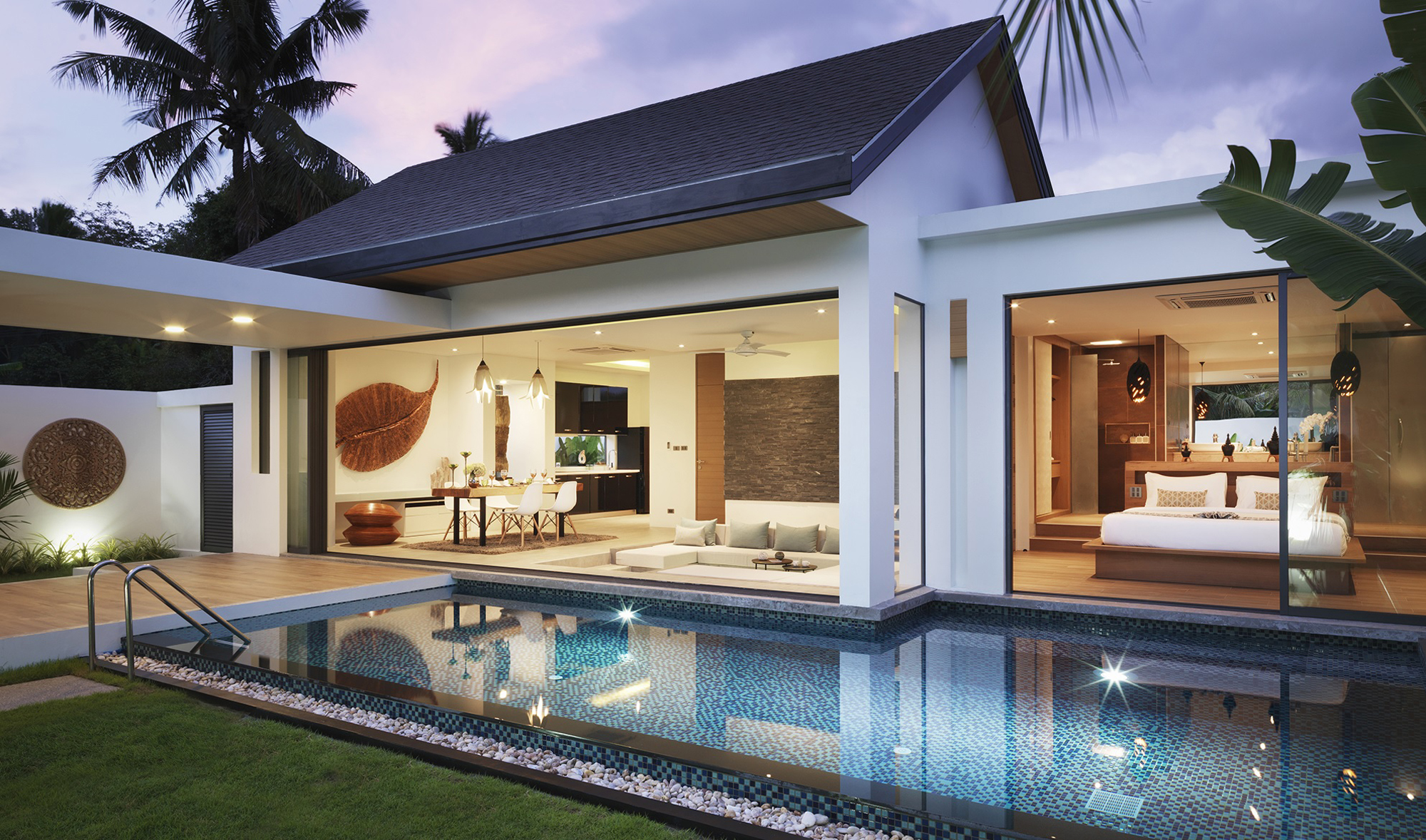 Private pool villa near Nai Thon beach