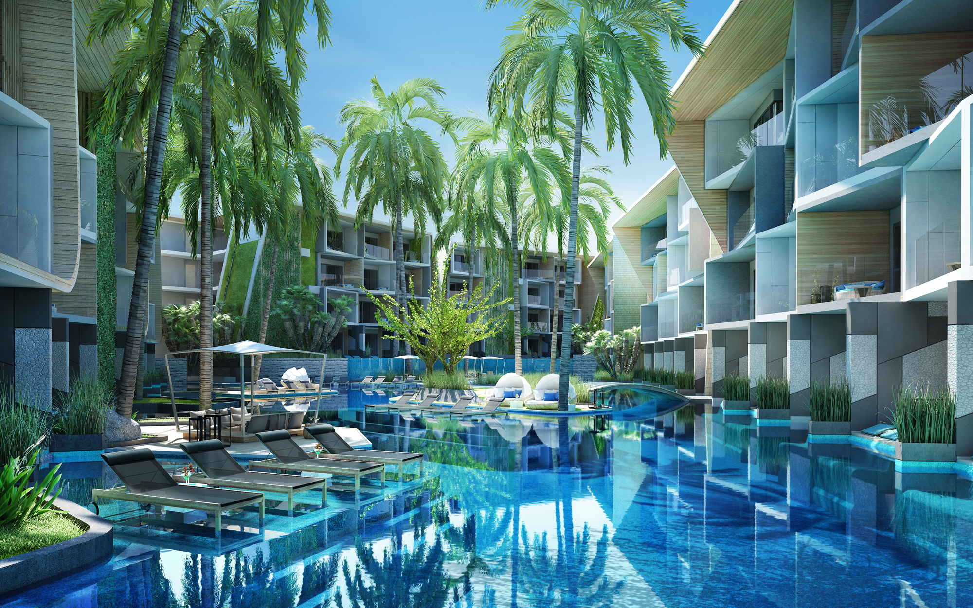 Investment Property in Naiharn managed by World-Class hotel brand