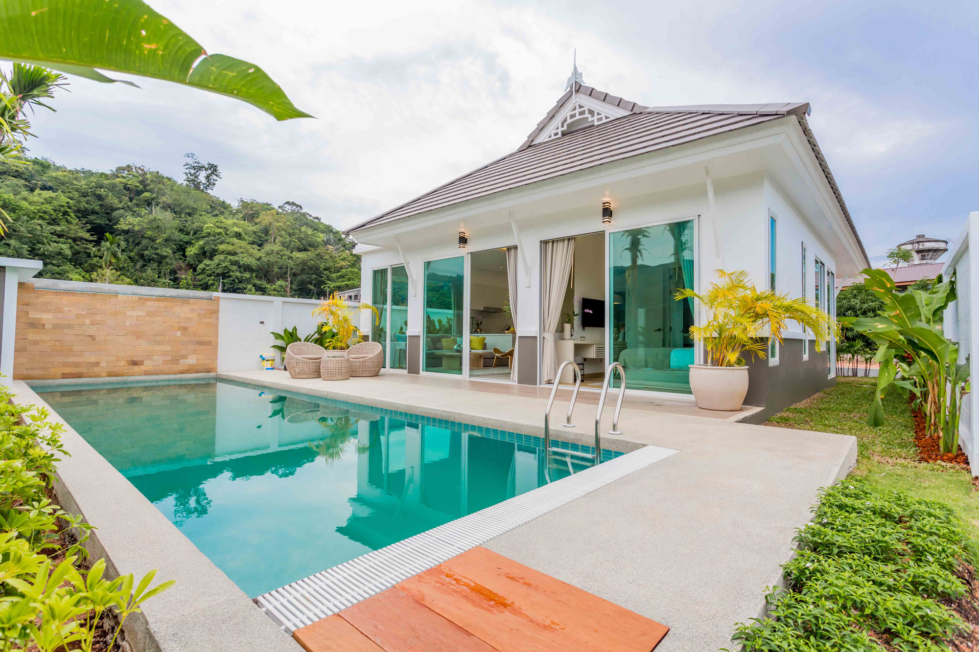 Beautiful Detached House with Private Pool in Kamala