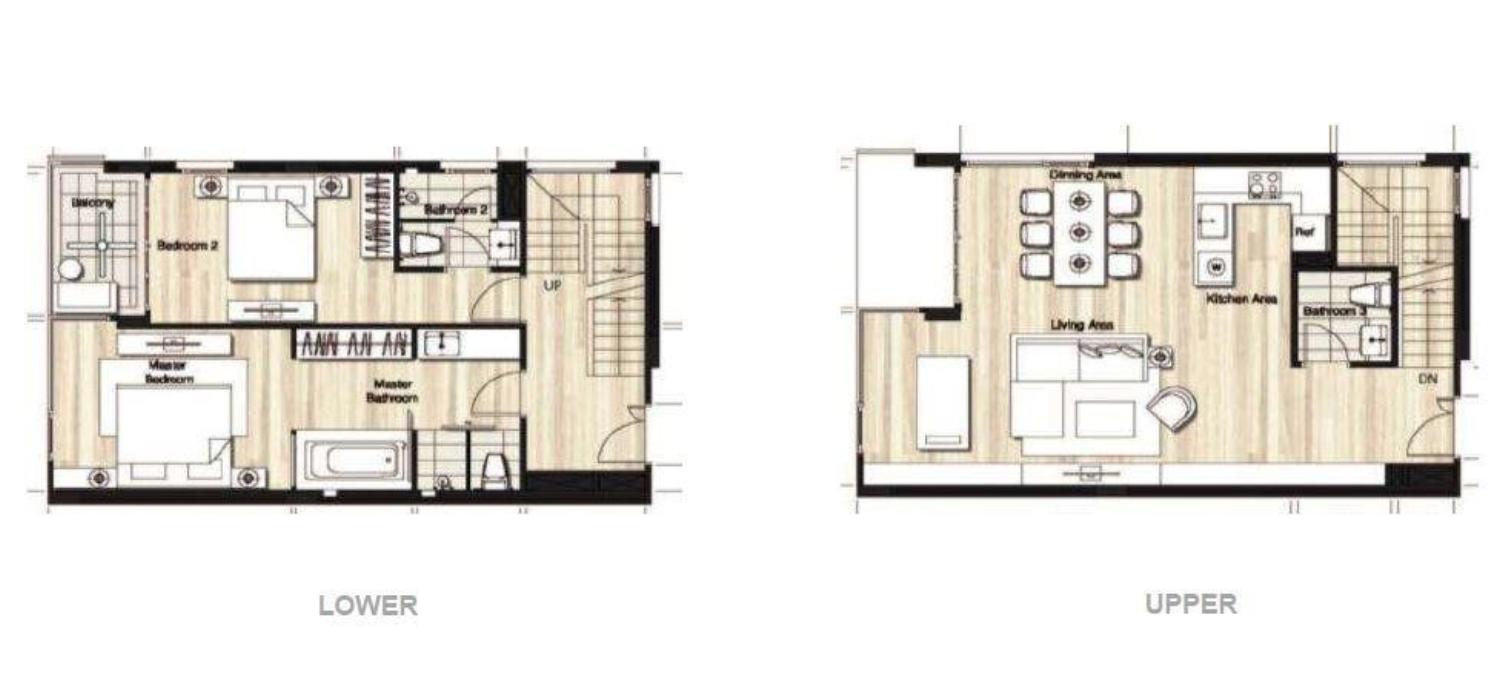Duplex 2 bedroom