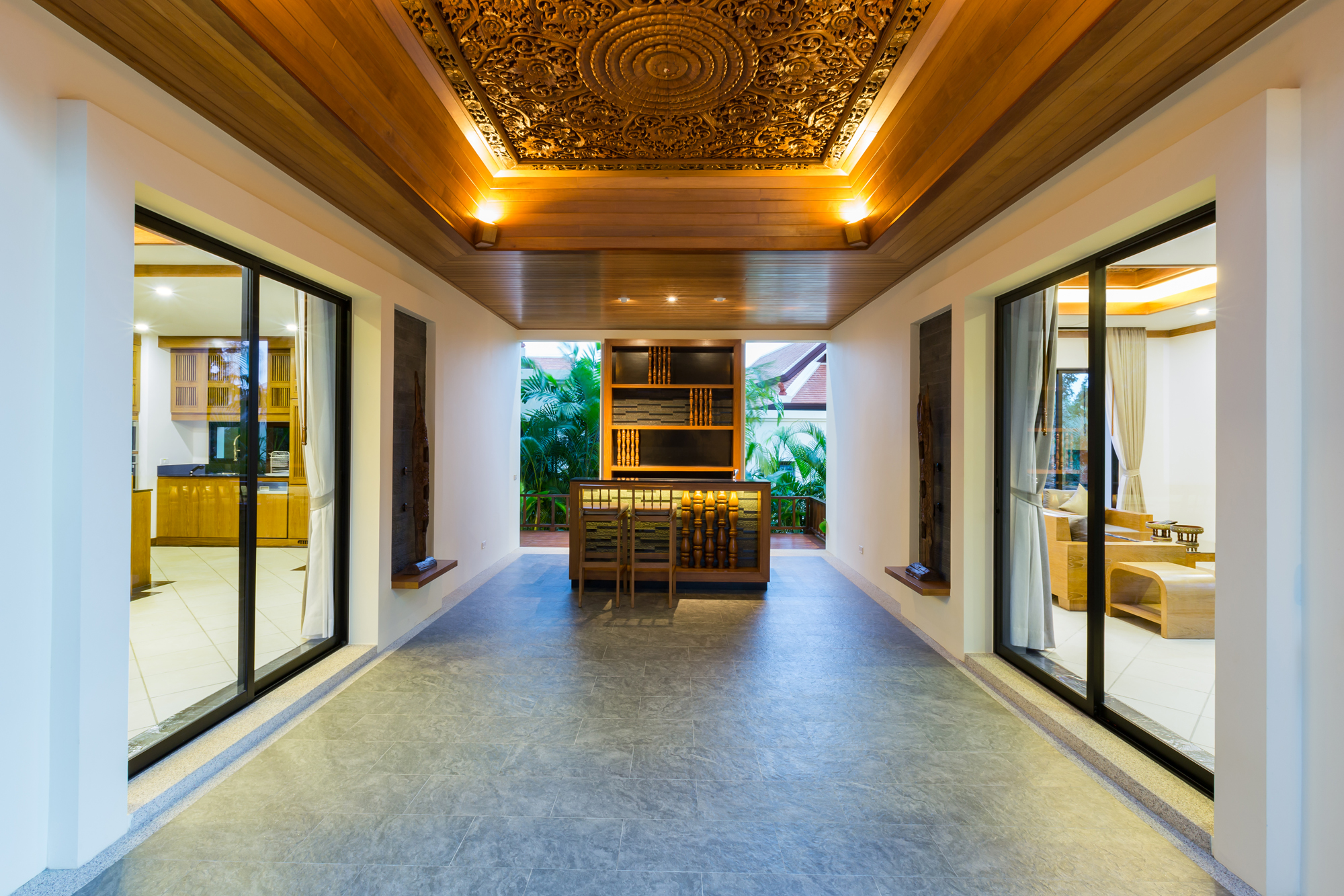 THAI BALINESE CUSTOM VILLA IN NAI HARN