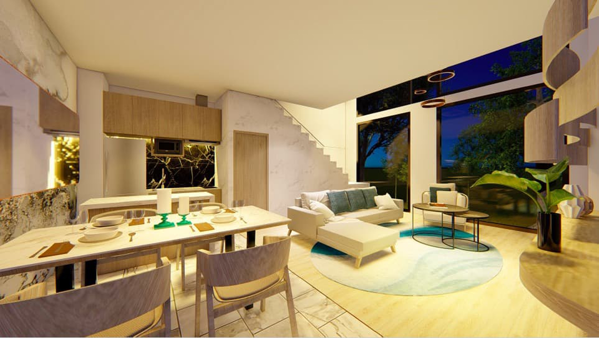 2 Bedroom unit in a large development in Rawai