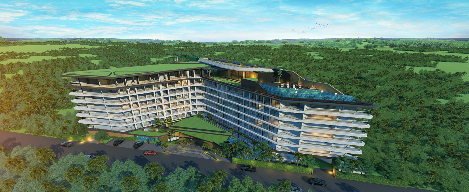 Affordable project in Naiharn area