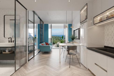 1.Residence Option A - Entrance