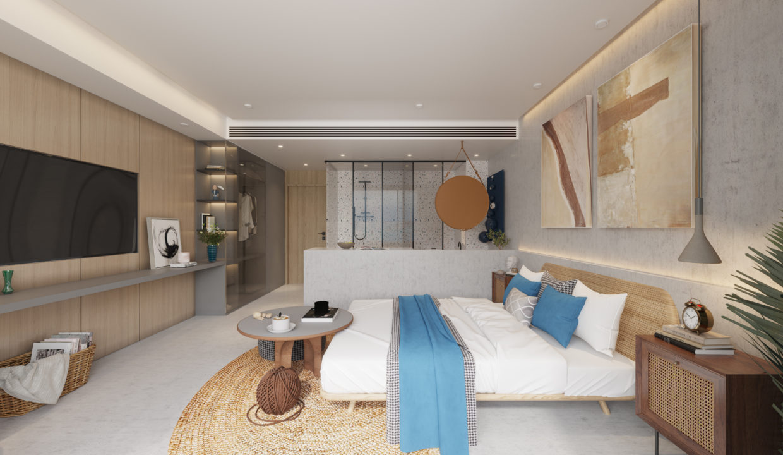 2. Residence Option B - Bedroom
