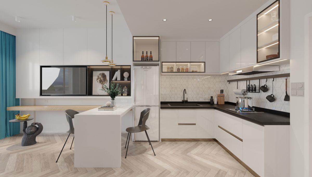 2.Residence Option A - Kitchen