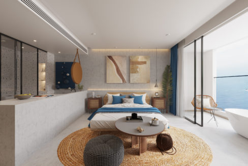 5. Residence Option B - View of the room