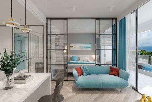 5.Residence Option A - Living room