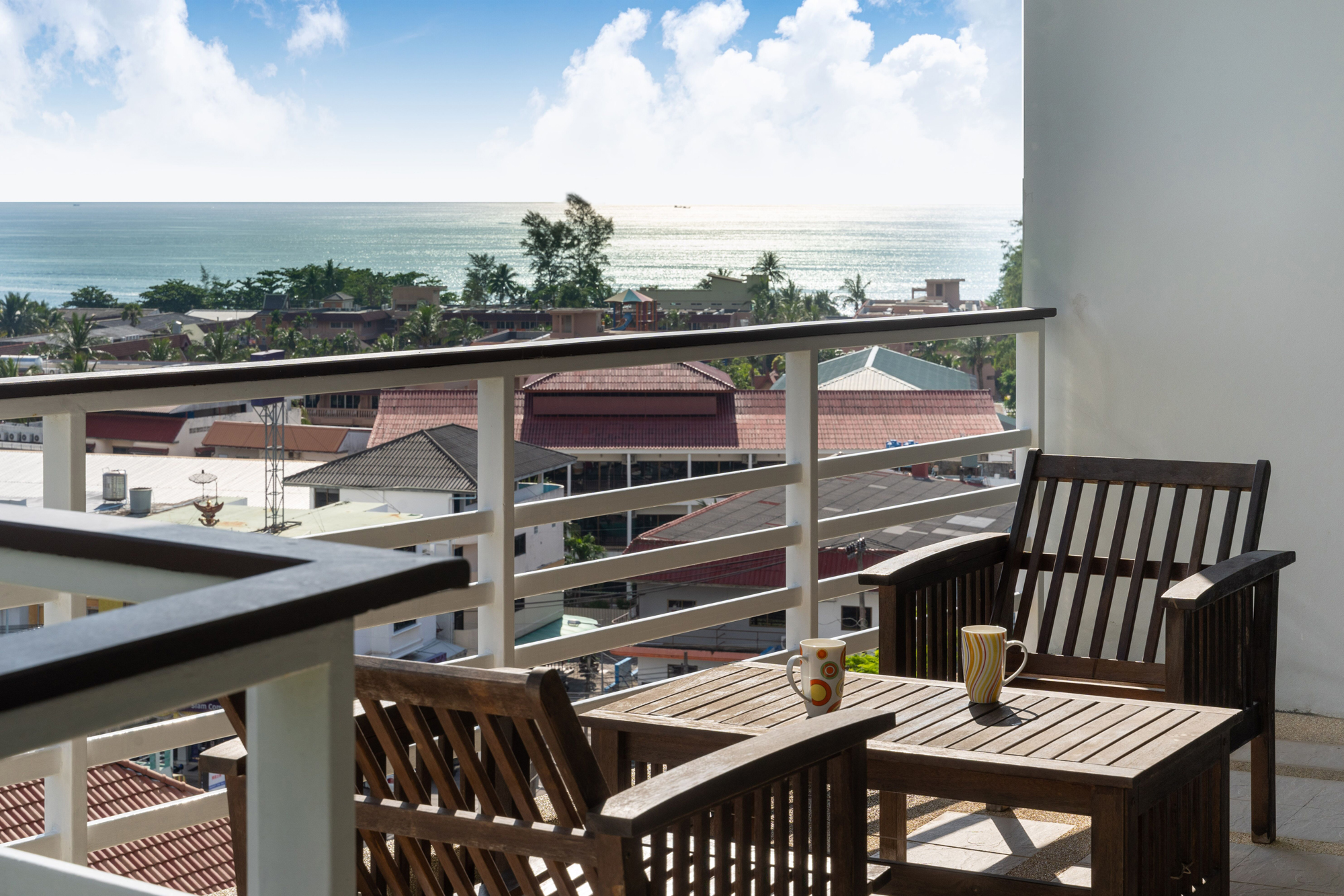 Large Seaview Apartment for sale in Karon
