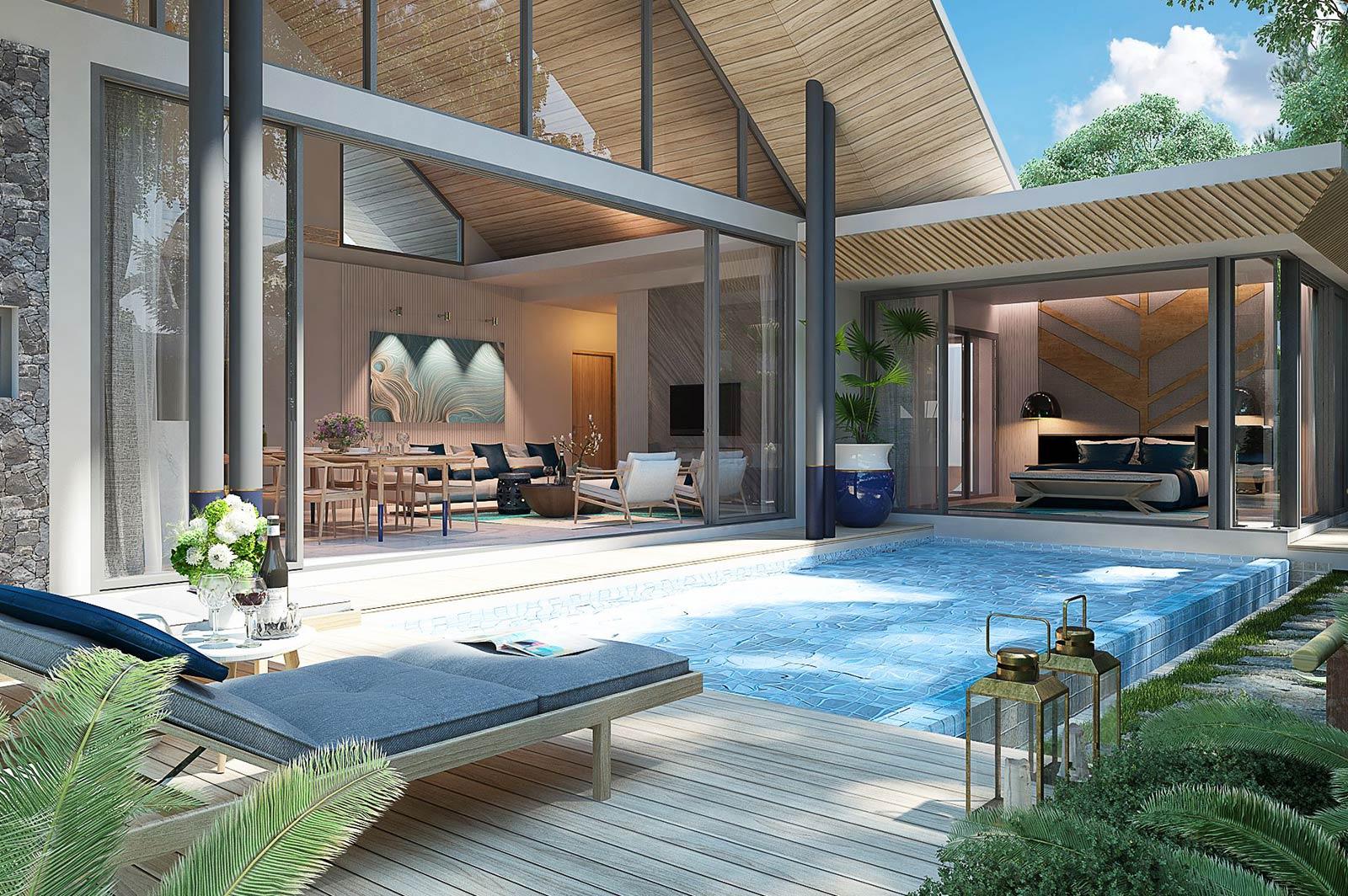 Luxury Pool Villa Project in Paklok