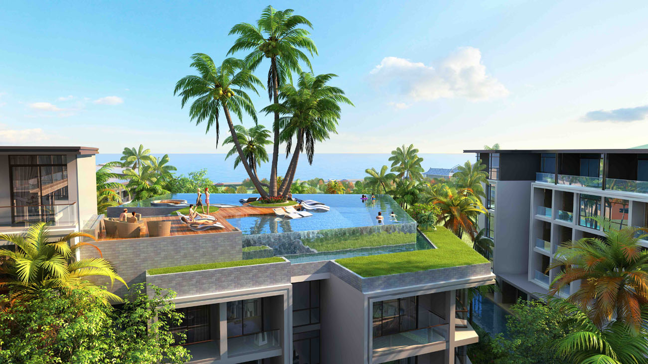 Beach Front New Condominium Project in Naithon Area