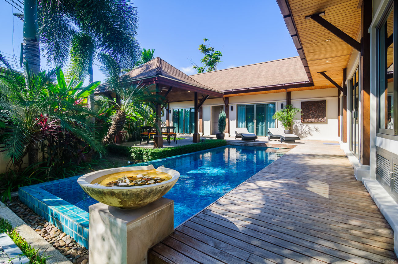3 Bedroom modern oriental-style pool villa