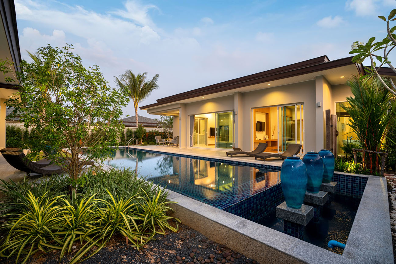 4 Bedroom Pool Villa in Layan with Financial Plan
