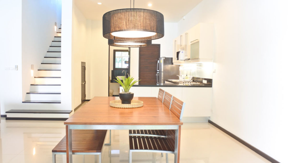 A1 - Dining and kitchen