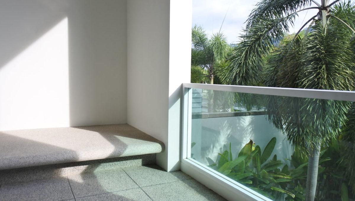 B1 - Master bed balcony