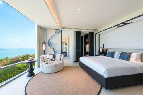 Master Bedroom Pool Villa A