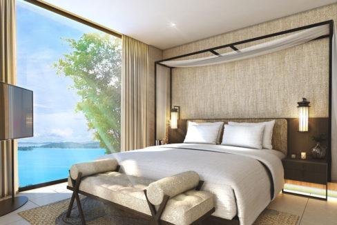 Master Bedroom Pool Villa C