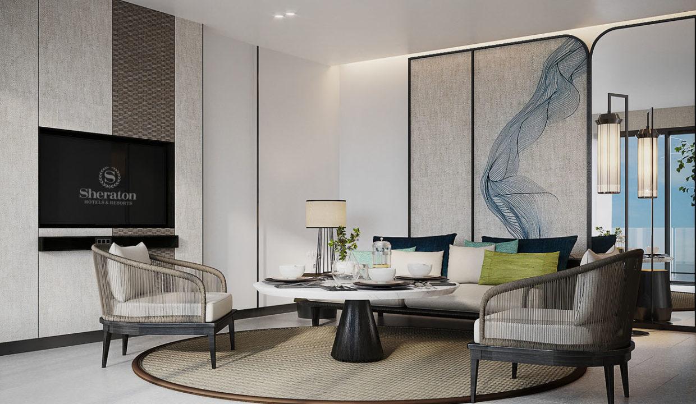 Pool Villa A_New Designed Living Room