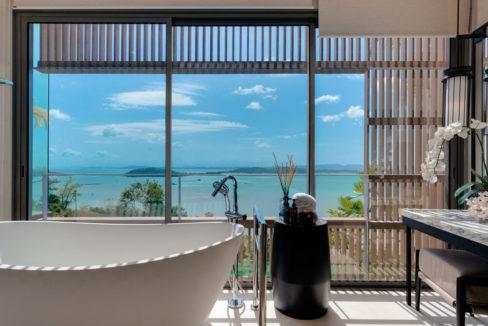 Pool Villa A_Seaview from Bathroom