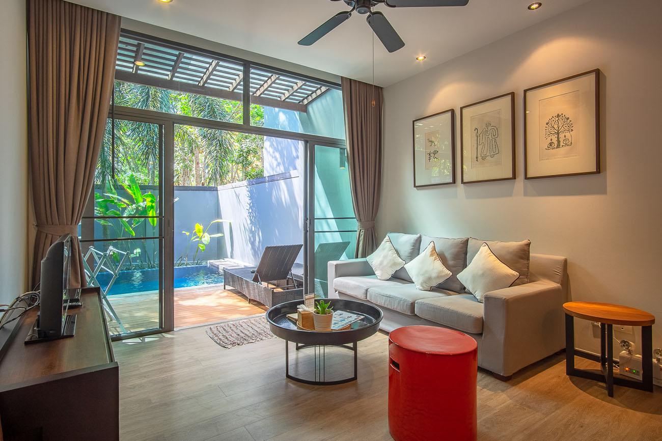 Modern 2 Bedroom Villa