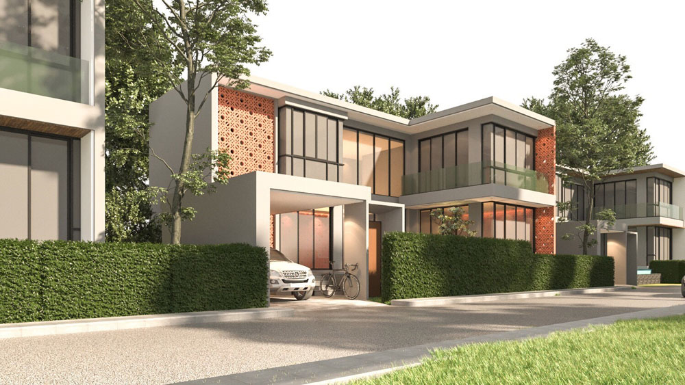 Thai luxury villa project in Cherngtalay