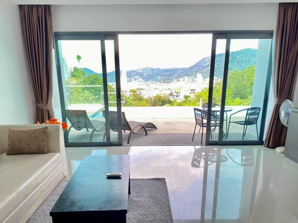 Sea View Pool Access Condo in Patong