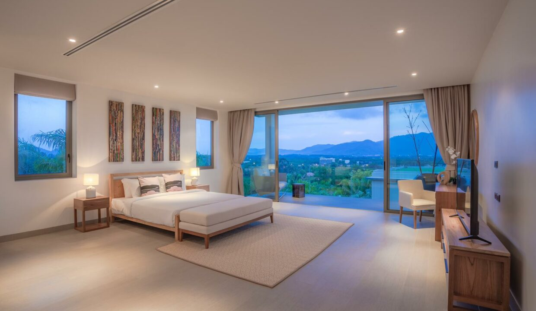 Hibiscus Villa Master Bedroom