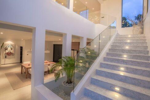 Hibiscus Villa Stairwell