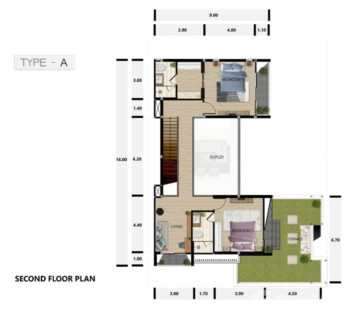 Type A Second floor