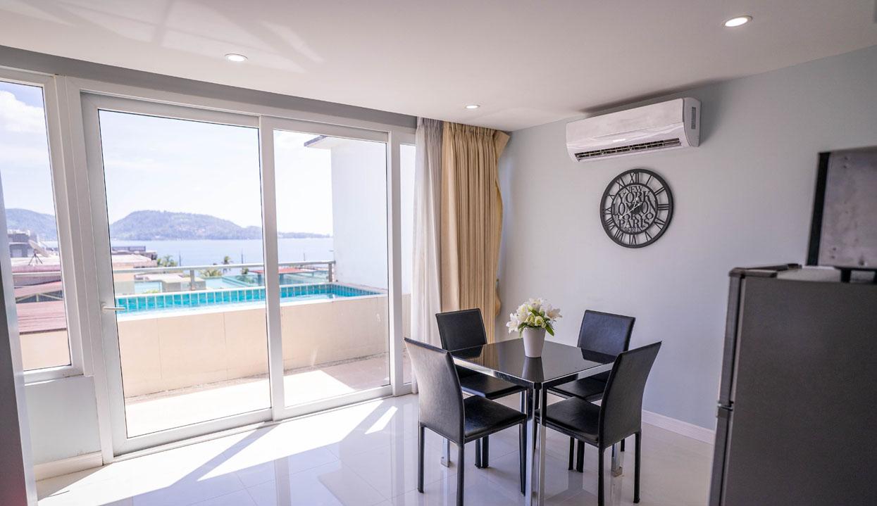 Sea View Condo With A Private Pool