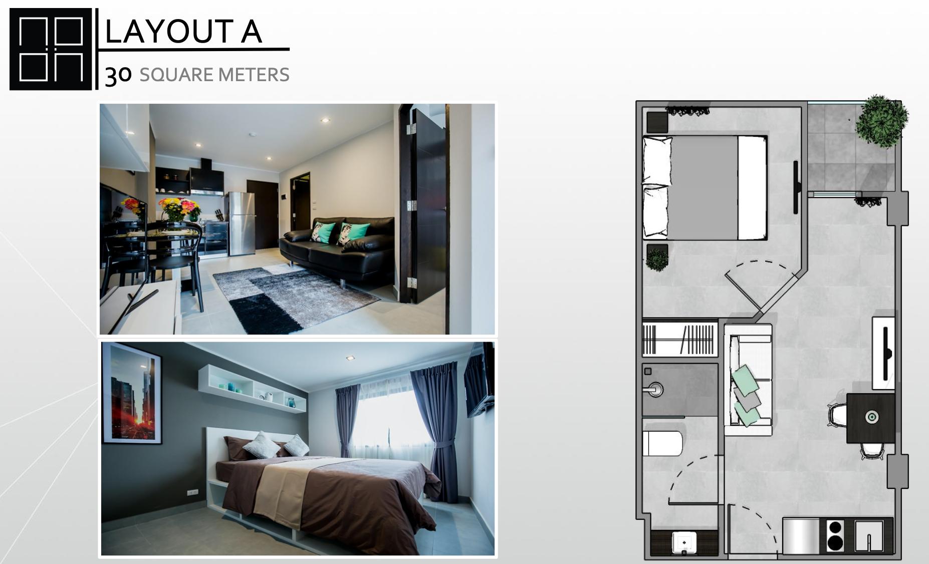 30 m²