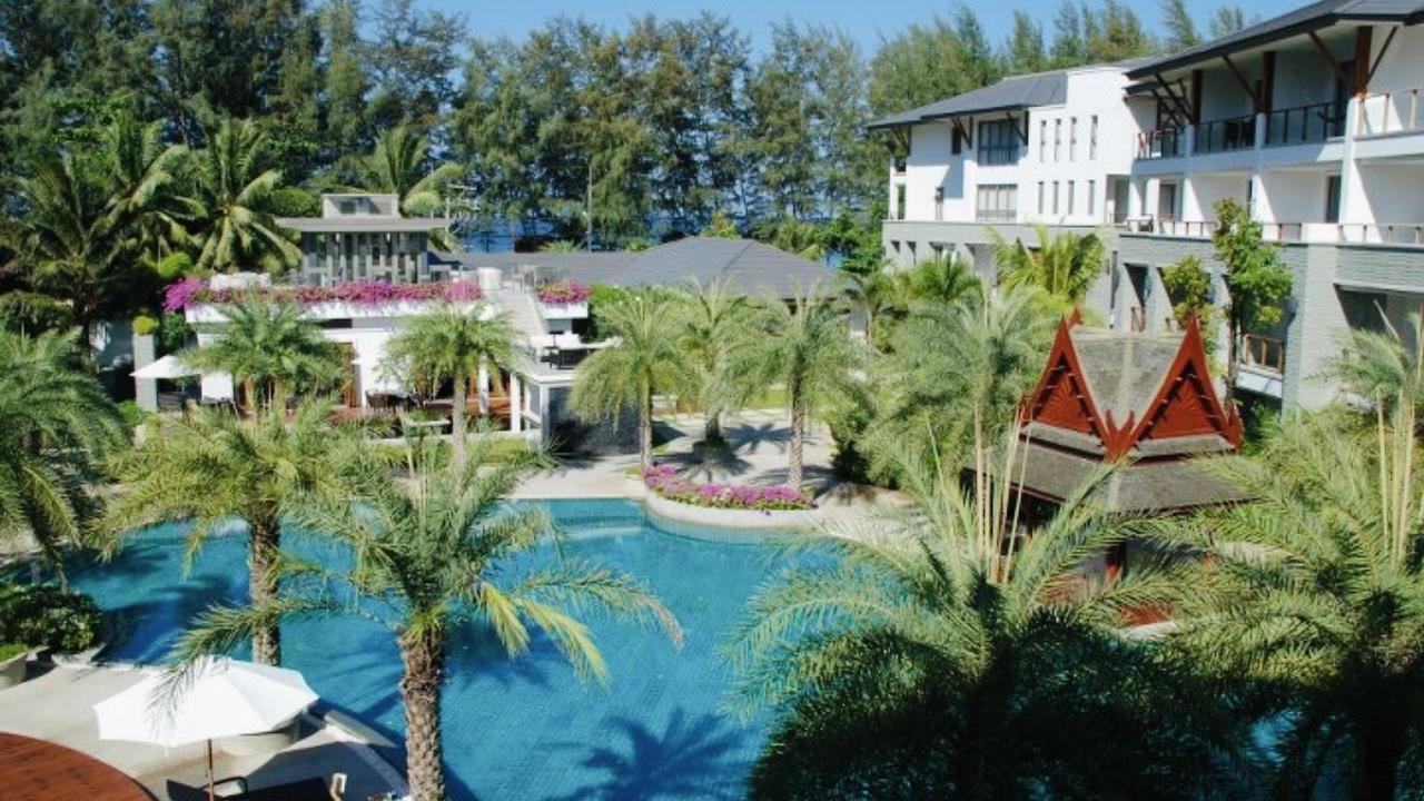 Beach Front Condominium Residential Resort In Naithon