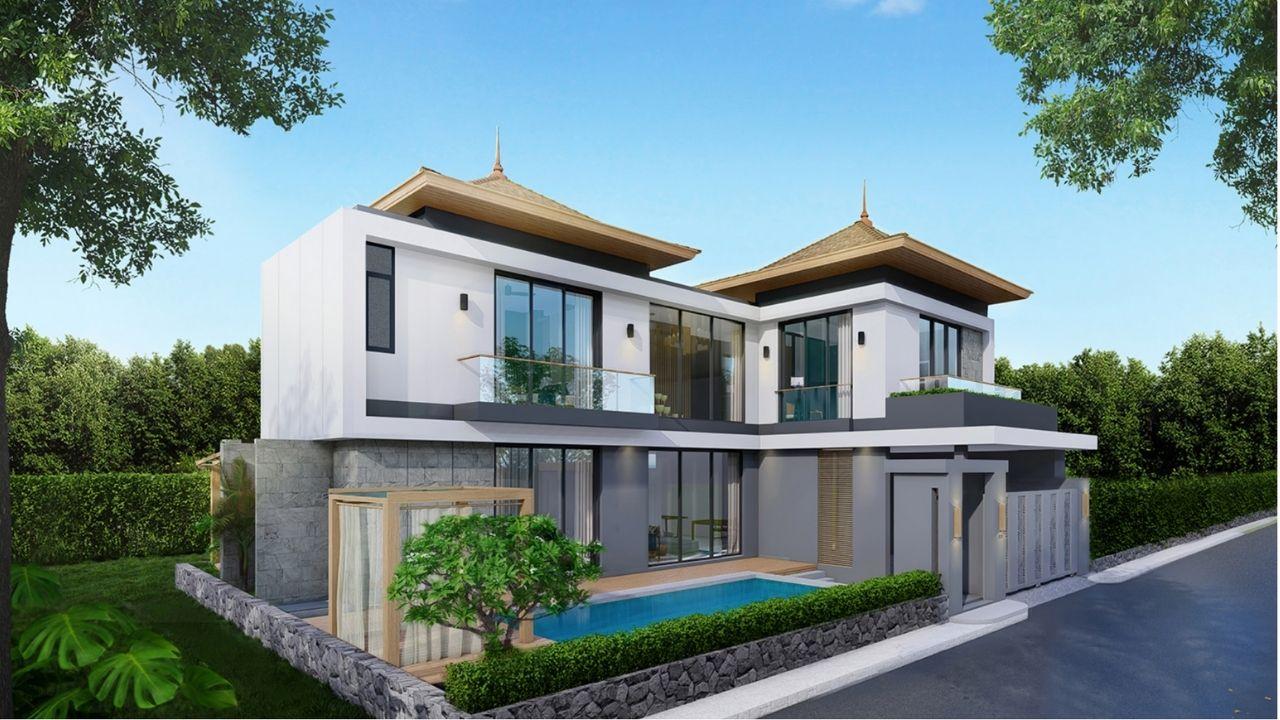 Modern Luxury Pool Villa Project in Pasak